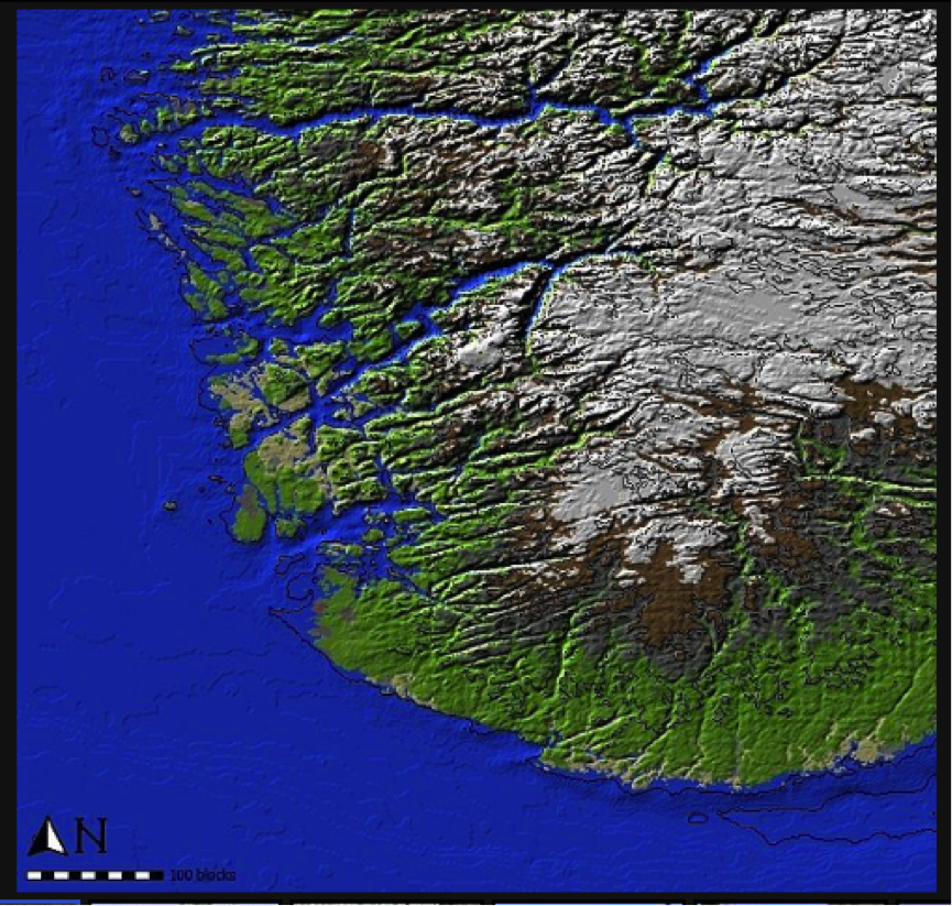 Building Norway in Minecraft with FME | Safe Software