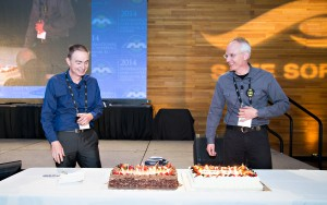 Anniversary celebration for Safe Software at the FME International User Conference 2014