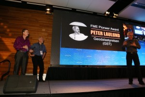 Peter Laulund receives the FME Pioneer Award