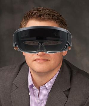 Greg peering into the future of AEC.