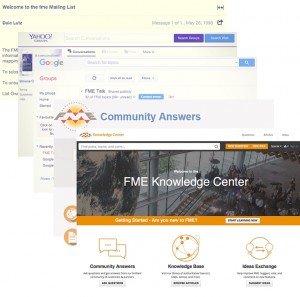 The evolution of the FME user community.