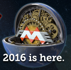 FME 2016 splash screen.