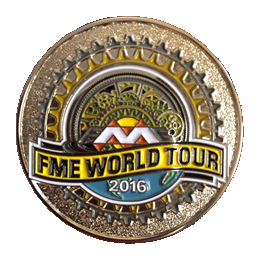 FME World Tour 2016 Swag: Geocaching Coin