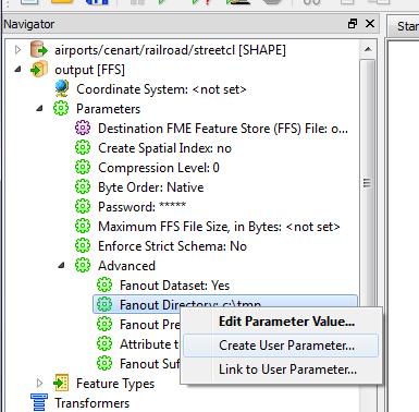 Create user Parameter