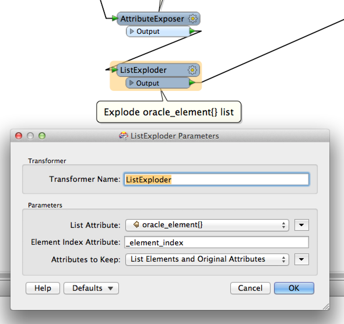 Text view oracle