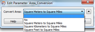 Area_Conversion parameter