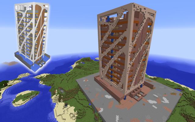 IFC in Minecraft