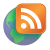GeoRSS/RSS Feed logo