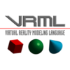 Virtual Reality Modeling Language (VRML97) logo