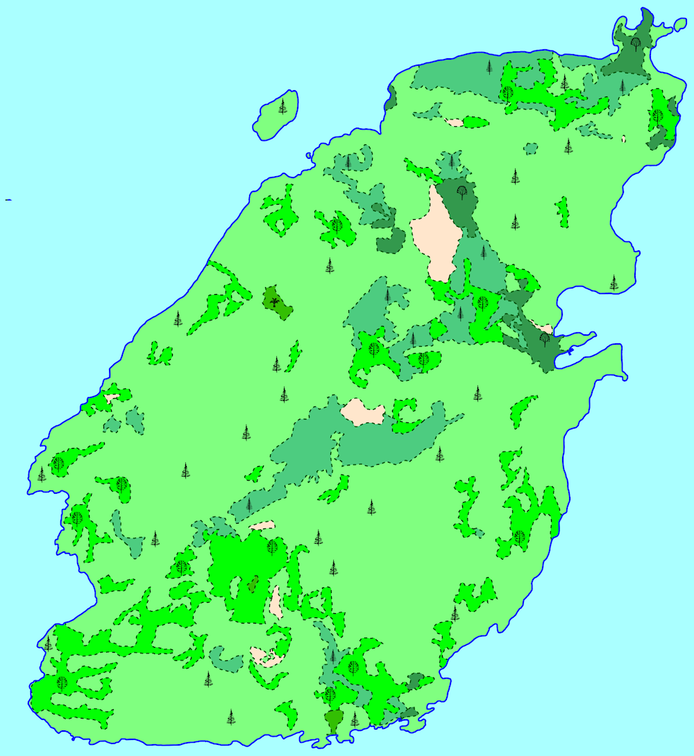 This Mario-like map is made possible by the integration of Mapnik and FME.