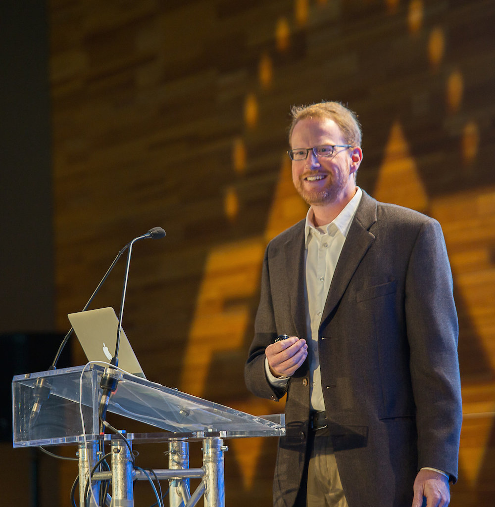 """""""Open source tools play well with others."""" Paul Ramsey, PostGIS founder, talks Open Source at the FME International User Conference 2014."""