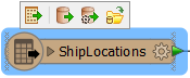 Feature type floating toolbar