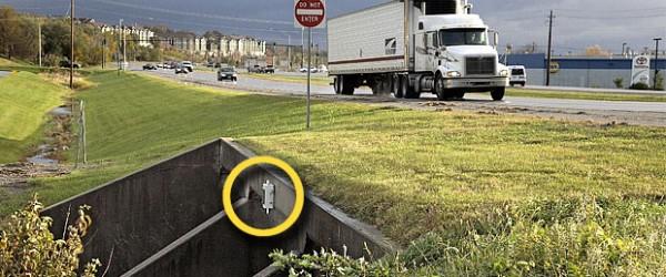 Iowa DOT Stream Gauge Sensor
