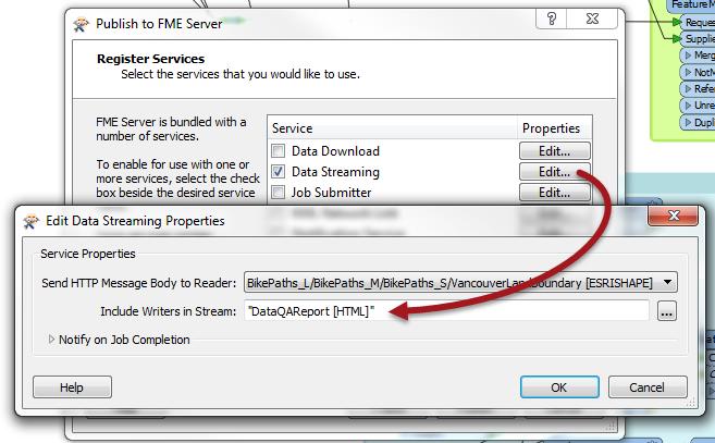 HTMLDataQAPublishToServer