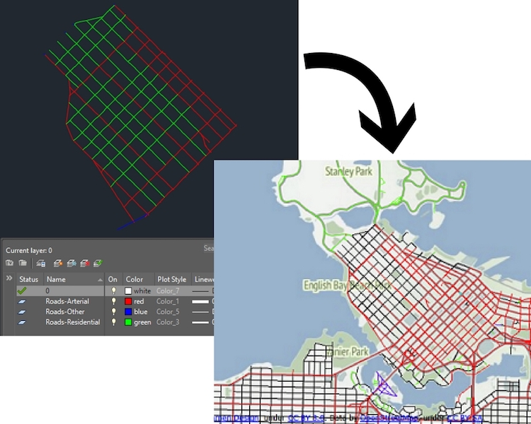 Use an image as a basemap