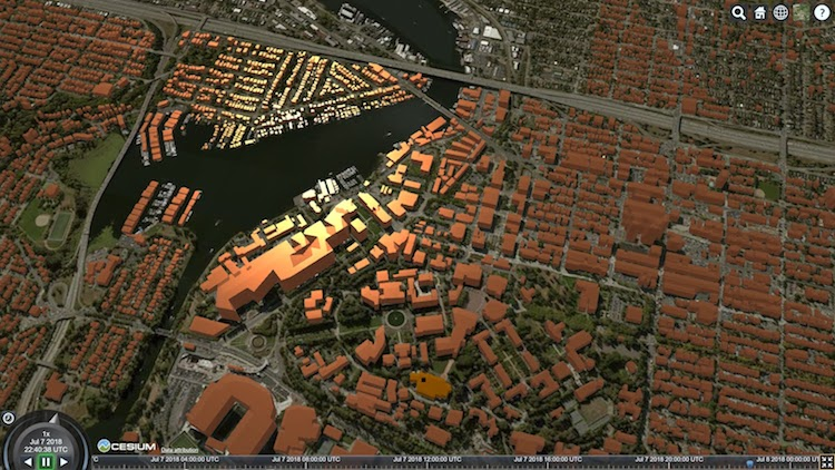 Visualizing Geospatial Data in a Web Browser with Cesium ion