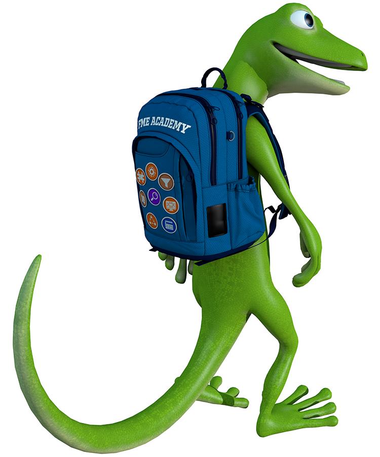 Showcasing Safe Software Mascot
